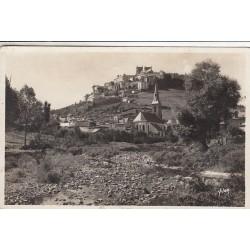 Carte postale - Saint Flour - Vue générale et rives du Lander