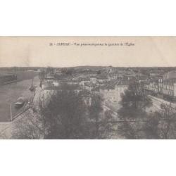 Carte postale - Jarnac - Vue panoramique sur le quartier de l'église