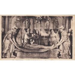 Carte postale - Bourges - Crypte de la cathédrale - Mise au tombeau