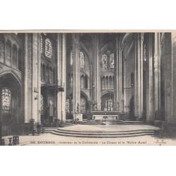 Carte postale - Bourges - Intérieur de la cathédrale