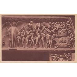 Carte postale - Bourges - La cathédrale - Le jugement dernier