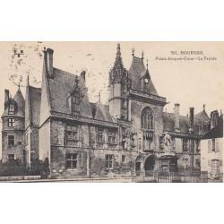 Carte postale - Bourges - Palais Jacques Coeur - La façade