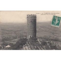 Carte postale - Turenne - Vue panoramiquenprise de la tour de l'horloge