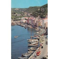 Carte postale - Bonifacio - Vue sur le port