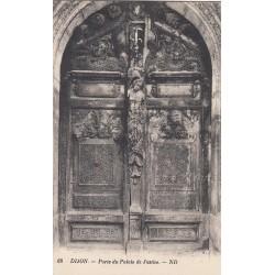 Carte postale - Dijon - Porte du palais de justice