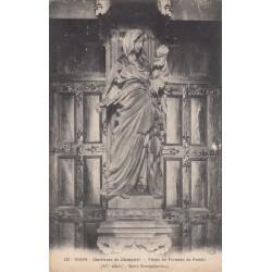 Carte postale - Dijon - Chartreuse de Champmol - Vierge du Trumeau du portail