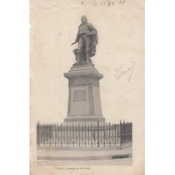 Carte postale - Dijon - Statue de Garibaldi