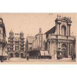 Carte postale - Dijon - Bourse du commerce - Eglise St Michel
