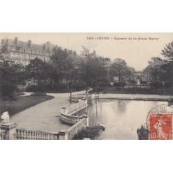 Carte postale - Dijon - Square de la place Darcy