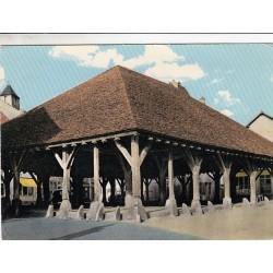 Carte postale - Nollay - Les halles, monument historique
