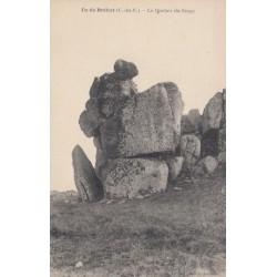 Carte postale - Île de Bréhat - Le rocher du singe