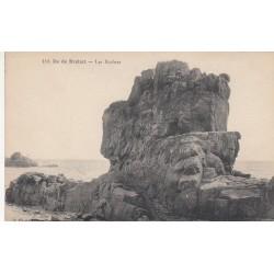 Carte postale - Île de Bréhat - Les rochers