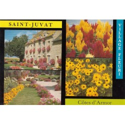 Carte postale - Saint-Juvat - Village fleuri