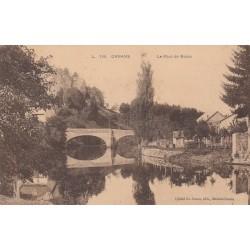 Carte postale - Ornans - Le pont de Nahin