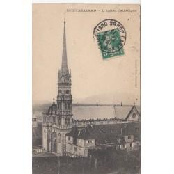Carte postale - Montbélliard - Eglise catholique