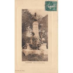 Carte postale - Chartes - Statue de Noël Ballay