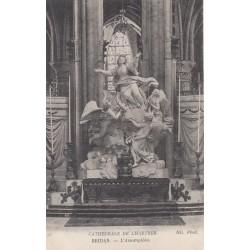 Carte postale - Cathédrale de Chartes - Bridan - L'assomption