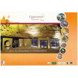 Carte postale - Chateaudun - Grottes du Foulon