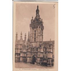 Carte postale - Saint-Thegonnec - L'église
