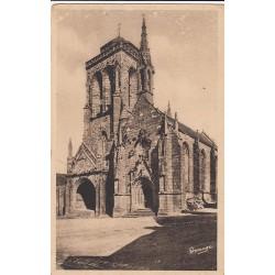 Carte postale - Locronan - L'église et la chapelle du pénity