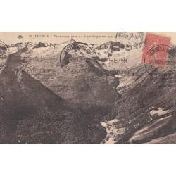 Carte postale - Luchon - Panorama pris de Superbagnères sur la vallée du lys