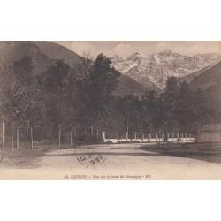 Carte postale - Luchon - Vue sur le fond de Venasque