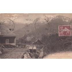 Carte postale - Environs de Luchon - Le Portillon - Route de Luchon