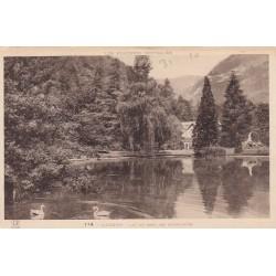 Carte postale - Luchon - Lac duparc des quinconces