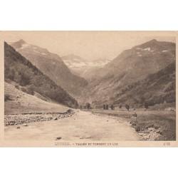 Carte postale - Luchon - Vallée et torrent du lys