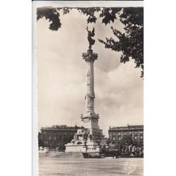 Carte postale - Bordeaux - Le monument des Girondins - Place des Quinconces