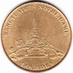 65 - Sanctuaires Notre-Dame - Lourdes - revers 'Lourdes avec différent' - SD