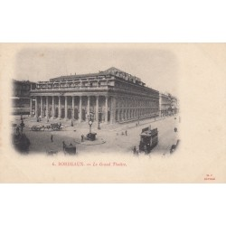 Carte postale - Bordeaux - Le grand théatre