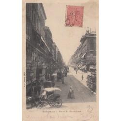 Carte postale - Bordeaux - Cours de l'intendance