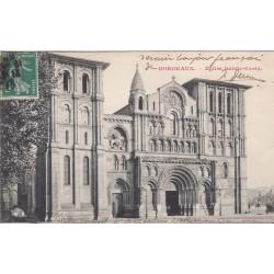 Carte postale - Bordeaux - Eglise Sainte Croix