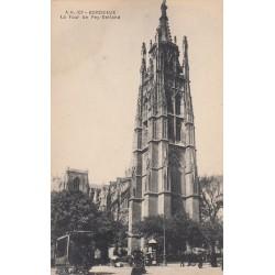 Carte postale - Bordeaux - La Tour Pey-Berland