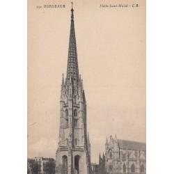 Carte postale - Bordeaux - Flèche Saint-Michel