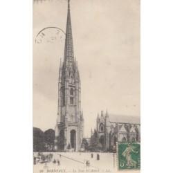Carte postale - Bordeaux - La tour Saint-Michel