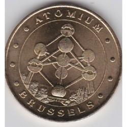 BE - Atomium - Belgique - Revers Bruxelles -1999