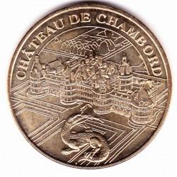 41 - Château de Chambord - Le château et la Salamandre - Revers 12 MDP-2 - 2012